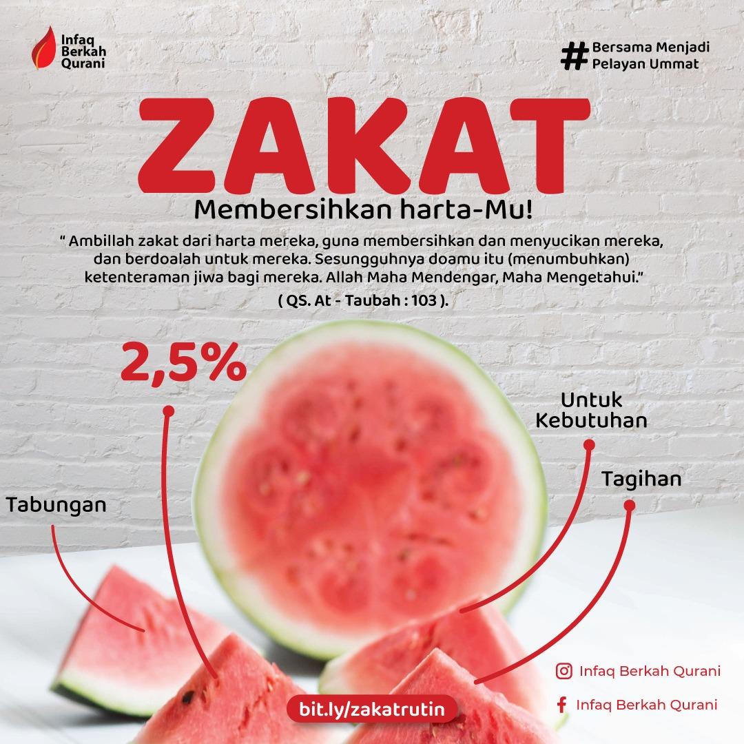 Read more about the article Zakat Selamat! Zakat membersihkan harta…