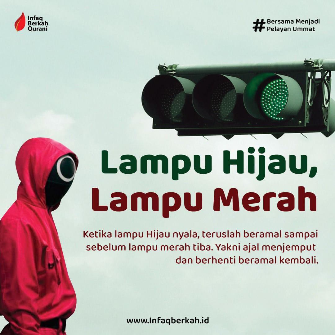 Read more about the article Perbanyak Sedekah Biar Berkah Sebelum Lampu Merah