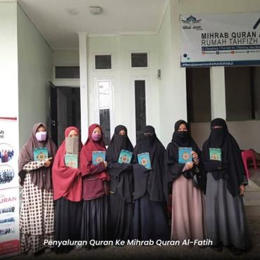 Penyaluran Quran ke Mihrab Quran AlFatih